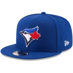 Toronto Blue Jays New Era Team Color 9FIFTY Adjustable Hat – Royal Toronto  Blue Jays 1ffacc099179