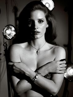 Interview US October 2014   Jessica Chastain by Craig McDean
