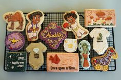 Aladdin, presented by Nicole of Life's a Batch - for a collection by flour box bakery Disney Princess Babies, Baby Shower Princess, Baby Princess, Baby Boy Shower, Princess Jasmine, Princess Party, Once Upon A Time, Biscotti, Aladdin Party