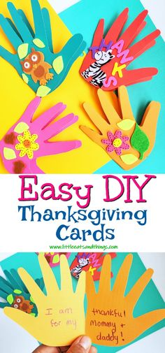 I think that these DIY Thanksgiving Cards turner out great! They are perfect to give to teachers, classmates, parents, or anyone! Easy Diy Crafts, Diy Craft Projects, Crafts To Make, Crafts For Kids, Thanksgiving Teacher Gifts, Diy Thanksgiving Cards, Kids Bedroom, Bedroom Ideas, How To Make Stencils