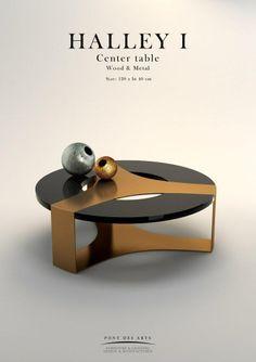 Halley Center table - Pont des Arts - Designer Monzer Hammoud - Paris-
