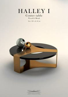 Halley Center table - Pont des Arts - Designer Monzer Hammoud - Paris-