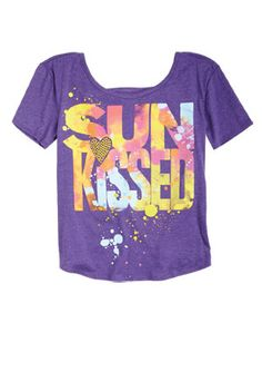 "delias.com, Graphic Tees, $24.50.  Super cute, but I want to wear it since I am very not tan. I can be ""ironic"", just like everyone else."