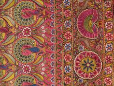 womens skirt panel in mochi embroidery from Kutch