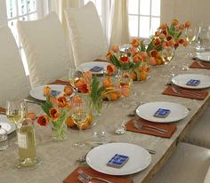 Thanksgiving Table Setting | Tablescapes | Pinterest | Thanksgiving ...