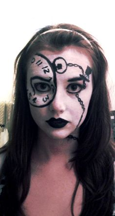 Alice in wonderland Make up