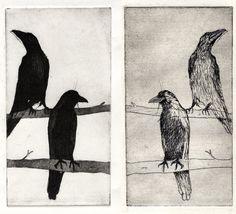 Chloé Tartinville. etching