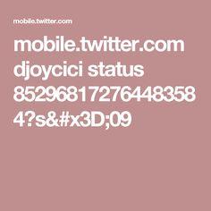 mobile.twitter.com djoycici status 852968172764483584?s=09