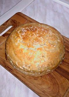 Pan Bread, Bread Baking, Bread And Pastries, Food To Make, Food And Drink, Dairy, Cheese, Homemade, Cookies