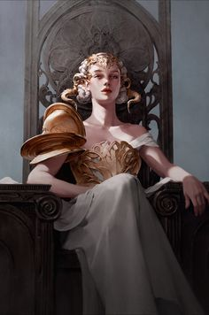 Kai Fine Art is an art website, shows painting and illustration works all over the world. Character Inspiration, Character Art, Art Anime, Art Et Illustration, Fantasy Artwork, Digital Art Fantasy, Aesthetic Art, Queen Aesthetic, Fantasy Characters