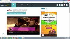 Watch Zoom TV live at YuppTV