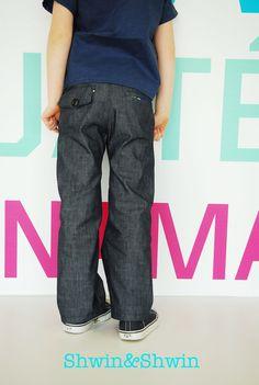 Shwin: Number 9 Trousers {New PDF Pattern}