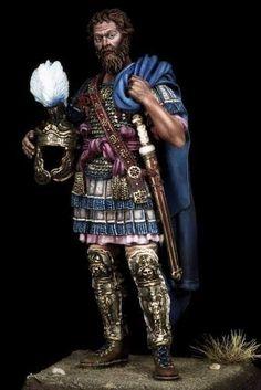 Roman Armor, Pax Romana, Greek History, Military Figures, Roman Emperor, Ancient Rome, Little People, Empire, Character Design