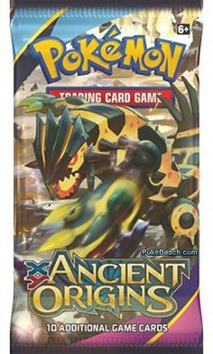 POKEMON - XY - ANCIENT ORIGINS 10 CARD BOOSTER PACK  #Pokemoncards   $5.25
