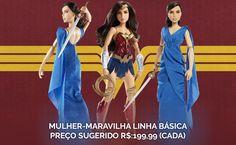 DESEJO NERD   Mattel lança coleção de bonecas da Mulher-Maravilha no Brasil! - Coxinha Nerd