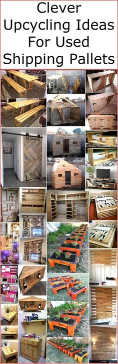 If you are looking to buy some new wooden products for your home, office, restaurant or for any place but also worried about the high prices of wooden furniture items available in all furniture shops, then stop thinking about the cost and clever create some exceptional recycled wooden pallet ideas for your places.