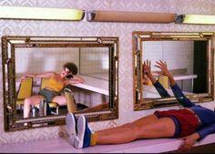 mirrors Guy Bourdin #helmutnewton #avedon #helmut #newton