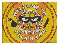 "Logo ""Villain-Con"" ""Foire du Mal"" - Minion 2015 Jolikrea in Etsy"