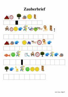 Spiel: Zauberer-Rätsel mit Anlauten