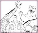 Zookeeper Coloring Pages Sketches