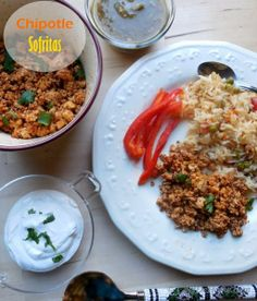 """This spicy marinated tofu recipe turned out even better than Chipotle's """"sofritas"""" - delightful!"""