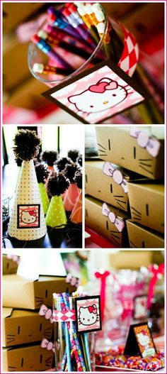 Hello Kitty Birthday Party #hellokitty #birthday MyBet