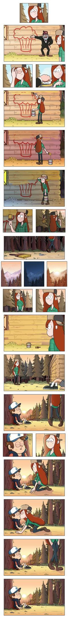 I'm part of many fandoms. This is mostly my Gravity Falls fandom side or my Judylwb Idoov fandom Dipper And Wendy, Dipper And Mabel, Gravity Falls Comics, Gravity Falls Art, Gravity Falls Dipper, Gavity Falls, Desenhos Gravity Falls, Reverse Falls, Billdip