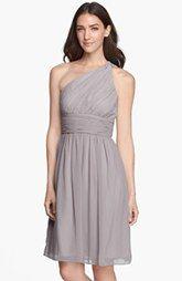 Donna Morgan 'Rhea' One-Shoulder Chiffon Dress (Regular & Plus) Nordstrom