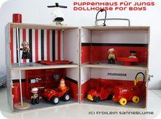 dollhouse for boys from Froilein Sanneblume