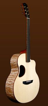 My Favorite Brand of Guitar, McPherson. This is my dream guitar. A Quilted Maple/ Engelmann Spruce for $6,700 dollars. This company uses  only the best products, and it shows in their guitars. This is just amazing.