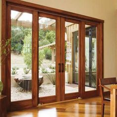 Sliding French Doors Patio - Enjoy outdoor living and produce a soothing atmosphere with patio ideas that are really innov Exterior Doors, House Exterior, Exterior Doors With Glass, Wooden Sliding Doors, Sliding French Doors, Wood Doors Interior, French Doors Patio, Barn Doors Sliding, French Patio
