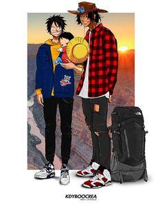 Goku plays for the Chicago Bulls Kuroko, Anime Gangster, Trill Art, Ace Sabo Luffy, Supreme Wallpaper, Anime Character Drawing, Samurai Art, Dope Art, Manga Boy