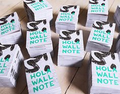"""Check out new work on my @Behance portfolio: """"free Hola Wall Note"""" http://on.be.net/1PRWvmd"""