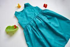Patron et tutoriel gratuits robe simple pour enfant