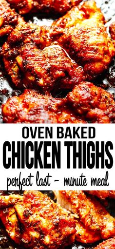 Oven Baked Boneless Skinless Chicken Thighs cooked in super flavorful spice combo. Oven Baked Boneless Skinless Chicken Thighs cooked in super flavorful spice combo. Baked Boneless Chicken Thighs, Oven Baked Chicken Thighs, Chicken Thigh Recipes Oven, Baked Chicken Recipes, Bake Chicken In Oven, Keto Chicken, Boneless Skinless Thighs Recipe, Chicken Thigh Meals, Recipes With Chicken Thighs