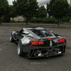 Carvette Wide Body Slammed