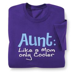 Aunt Cooler T-Shirt - Best Selling Gifts, Clothing, Accessories, Jewelry and Home Décor