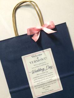 New Orleans Wedding Gift Bag Ideas : Wedding Welcome Bag Hotel Guest Bag Destination by absolutelyeva