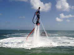 I wanna go flyBoarding!