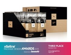 The Dieline Package Design Awards 2013: Prepared Food, 3rd Place - Mighty Rice  - The Dieline -