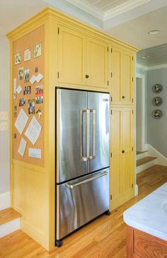 building a built-in pantry around the fridge & a great home ...
