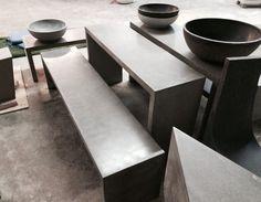 AtelierB, #AtelierB. Concrete Furniture