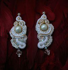 my wedding soutache earrings