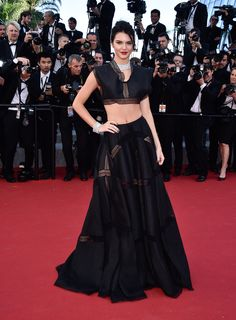 Dressed to Impress at the Cannes Film Festival - Kendall Jenner-Wmag