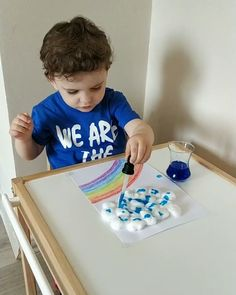 Indoor Activities For Toddlers, Activities For 2 Year Olds, Toddler Learning Activities, Preschool Learning Activities, Infant Activities, Kids Learning, Kids Education, Kids And Parenting, Kids Playing