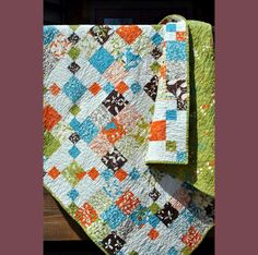I like the colors in this quilt