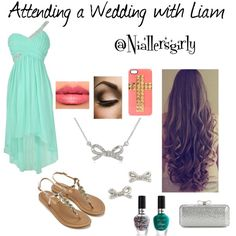 """""""Attending a Wedding With Liam"""" by niallersgirly on Polyvore"""