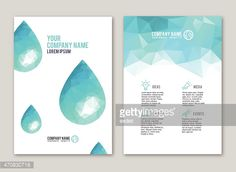 View Vector Art of Lowpoly Water Drop Design For Print. Find premium, high-resolution photos at Getty Images. Water Branding, Event Company, Print Layout, Drops Design, High Resolution Photos, Free Illustrations, Company Names, Brochure Design, Print Design
