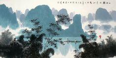 Mountain and Water,- Chen Chun Zhong