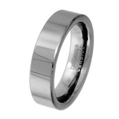 6mm Flat Plain Cobalt Free Tungsten Carbide Comfort Fit Wedding Band Ring for Men and Women (Size 5 to 12) GoldenMine. $19.00. New to the Jewelry World, Tungsten is growing to be one of the most popular choices for Wedding Bands. Tungsten Carbide is one of the hardest metals on earth, making it quite literally scratch proof. **Does not apply for coated Tungsten Bands**. Orders over $30.00 Include FREE-SHIPPING. Manufactured using only up-to-date manufacturing technique...